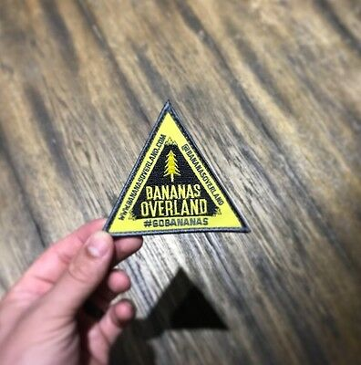 Bananas Overland Morale Patch Velcro Backed