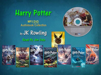 The Complete HARRY POTTER Series JK Rowling Read By Jim Dale (8 MP3 Audiobooks)