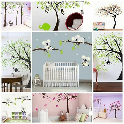 DIY Wall Stickers for Kids Removable Decals Home Nursery Mural