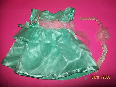 FITS CABBAGE PATCH KID DOLL CLOTHES TRU DOLLS SATIN 20th anniversary dress set