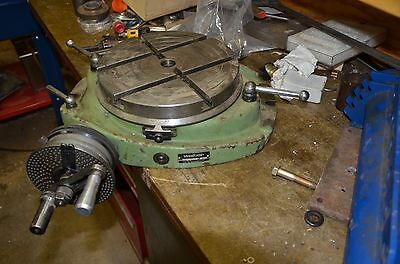 Walter RT250TG indexing rotary table