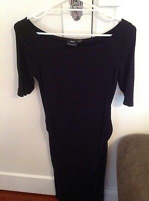 Asos maternity black dress size 8