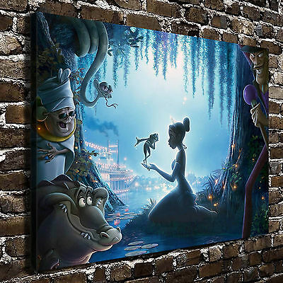 Disney Princess Frog Paintings HD Print on Canvas Home Decor Wall Art Pictures