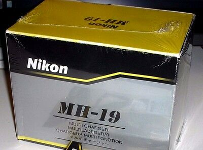 - Nikon MH-19 Multi Battery Charger For EN-EL3a EN-EL3e Batteries D100 D200 D300