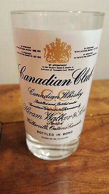 Canadian Club  Imported  Whisky / On the Rocks / Loball Glass
