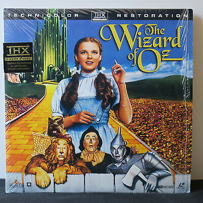 'THE WIZARD OF OZ' Laser Disc Movie THX