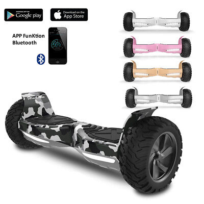 Off Road Overboard Bluetooth&app Self Balancing Smart Electronic Scooter Board