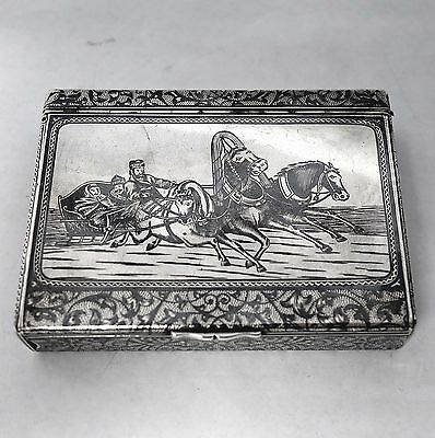 Antique Russian Silver Box by Faberge Made by KARL FABERGÉ 1913. Stock ID 8927