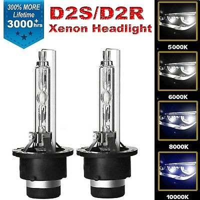 HID XENON HEAD LIGHT BULB 10000k D2R for Infiniti I35 2002 2003 2004 Aqua Blue
