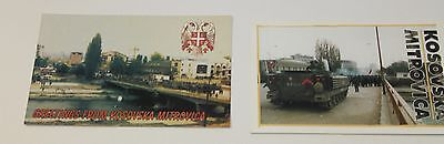KOSOVO - Lot 2 Cartes Postales