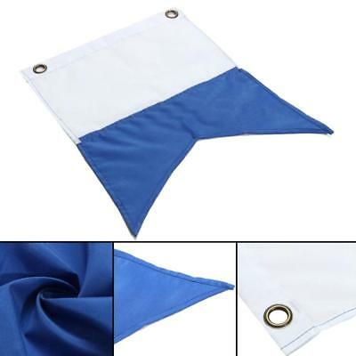 35 x 30cm Dive Boat Alpha Flag with Metal Grommets Scuba Diving Accessories