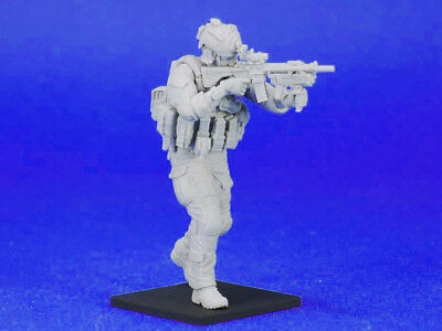 █ 1/35 Resin Modern US Seals Special Force Soldier Unassembled Unpainted TR102