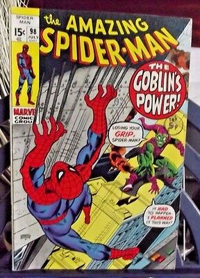 Marvel Comics Group Present The Amazing Spider-Man Vol 1 #98 July 1971