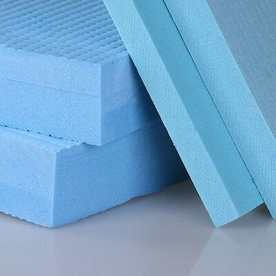 1PC Foam Sheet Blue Thicken High Density DIY Crafts Dollhouse Model Upholstery