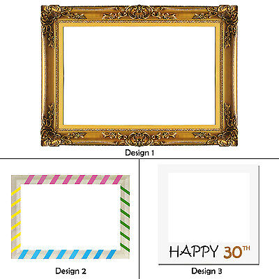 1pc Photo Frame Only Photo Booth Wedding Birthday Reception Hen Bachelor Events