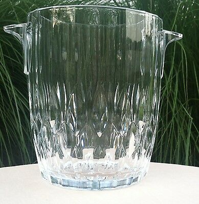 Ice Bucket/ Champagne Chiller/Wine Cooler with Handles - vintage condition