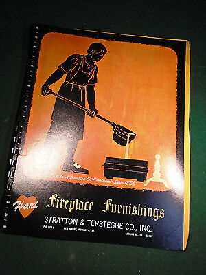 1965 STRATTON & TERSTEGGE FIREPLACE FURNISHINGS CATALOG 72 pgs w/PRICES(8990-18)