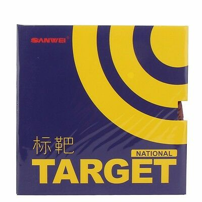 SANWEI TARGET National Version Pips-In Table Tennis Rubber Ping Pong Sponge