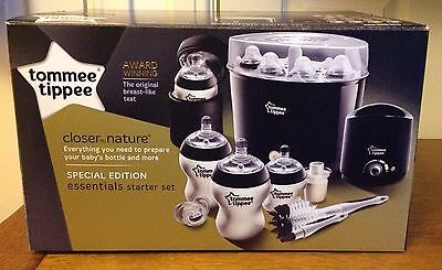Tommee Tippee Closer to Nature Essencials Starter Set - Black