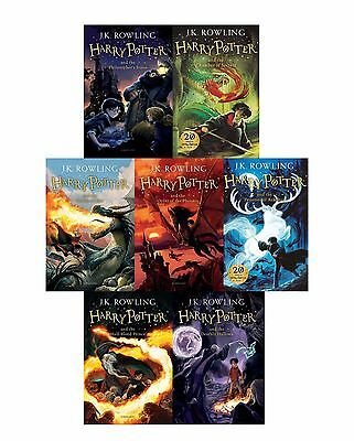 Harry Potter The Complete Collection 7 Books Paperback no BOX