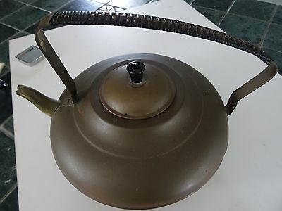 Vintage Copper & Brass Tea Kettle from Holland (1 of 2)