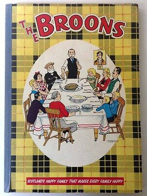BROONS Annual Book 1960 (1959) - Original Rare - VG Condition Dudley D. Watkins