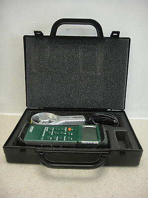 Extech Instruments 407113 Cfm/cmm Thermo-Anemometer With Case