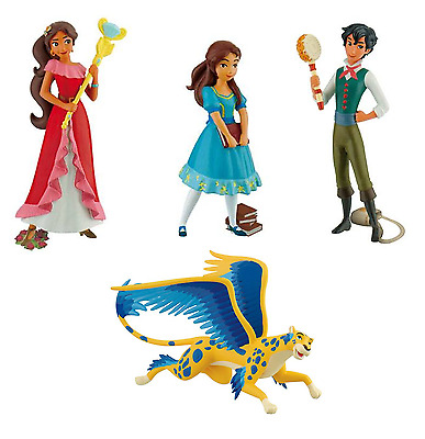 Official Bullyland Disney Elena Of Avalor Figures Toys Cake Topper Toppers