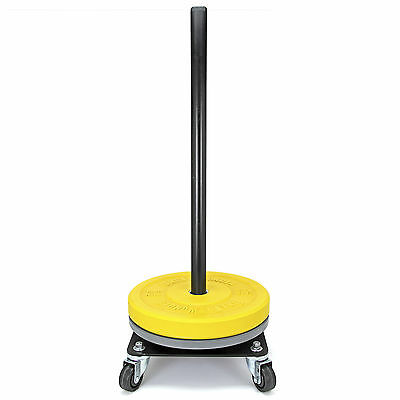 Rolling Bumper Storage w/ Caster Wheels / Stack Weight Plates /