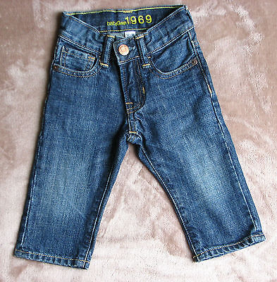 Baby Boy Jeans BABY GAP Denim Trousers 12-18 months