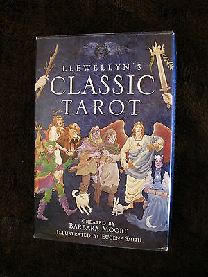 Llewellyns Classic Tarot Card Deck + Book Fortune Telling Divination Barb Moore
