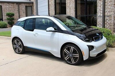 2014 BMW i3 Base Hatchback 4-Door Capparis White Tera World Tech+Driving Assist Parking Assist Fast Charge HK More