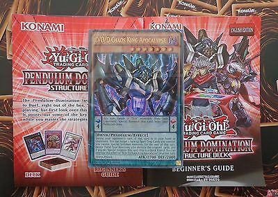 Yu-Gi-Oh! Pendulum Domination Deck - Factory Sealed Cards *No Box* 1st Edition
