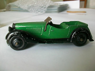 Dinky Toys Original British Salmson 36f 4 Seater Sports Car