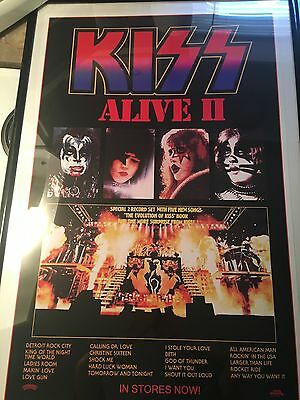 kiss alive 2 poster