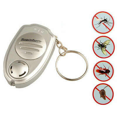 Loskii NB-UE008 Ultrasonic Electronic Pest Anti Mosquito Repeller Keychain