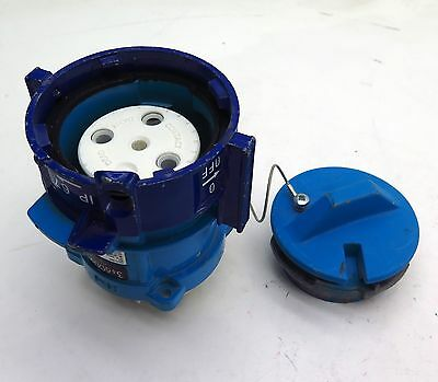 Meltric DB60 89-64143 Receptacle Connector 60A 600Vac 30 HP Free Shipping
