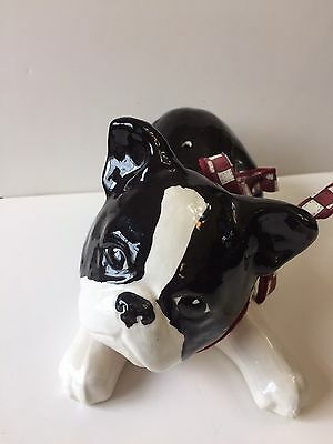 Boston Terrier Handmade Ceramic
