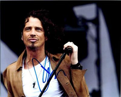 Chris Cornell Autographed Signed 8x10 Photo Picture Pic + COA