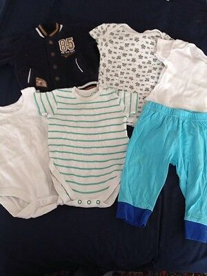 Bundle Of Boys Clothes 6-9 Months Inc NEXT George Tu
