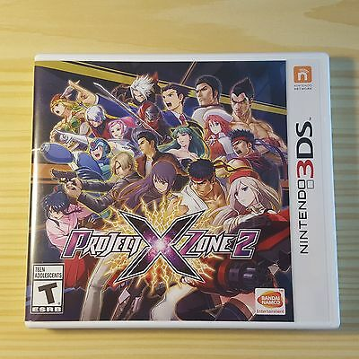 Project X Zone 2 (Nintendo 3DS, 2016) Complete
