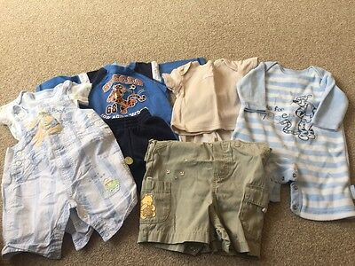 Bundle DISNEY Baby Clothes, 5 Outfits, Baby Boy 0-3 mths.