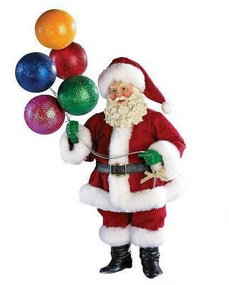 2013 Adler Fabriche *up, Up And Away* Santa Holding Balloons, Free S/h, Nib