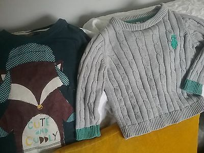 boy 9-12 mths jumper & top + more. IN  ex condition Buy more pay just 1 post cos