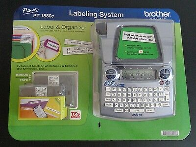 Brother PT-1880c P-Touch Label Maker Electronic Labiling System NEW Free Ship
