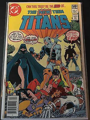 The New Teen Titans #2 *1st Appearance Of Deathstroke*