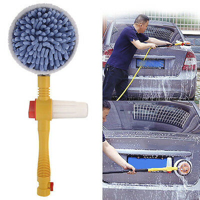 Car Wash Brush Extendable Pole Revolving Care Washing Brush Sponge Cleaning Hot