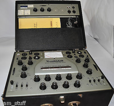 Heathkit Tt-1  Tt-1A Tube Tester!! **very Nice**