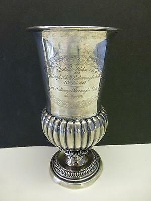 1804 Wedding Anniversary 800 Silver Krone German Presentation Goblet Cup Germany