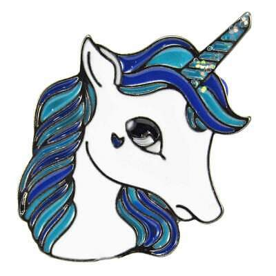 Unicorn Enamel Pin Badge Retro Kitsch Lapel Fun Aussie Seller Kids